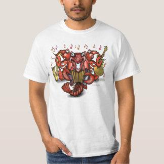 Camiseta de la banda de los cangrejos