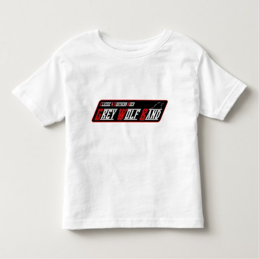 Camiseta de la banda del lobo gris
