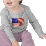 Camiseta de la bandera americana