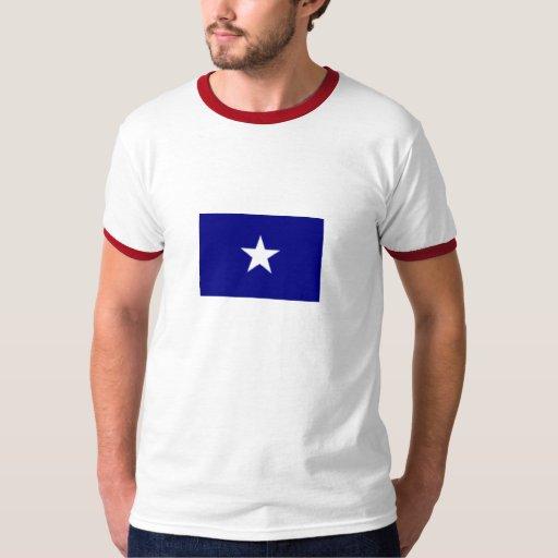 Camiseta de la bandera azul de Bonnie Playera