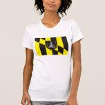 Camiseta de la bandera de Baltimore