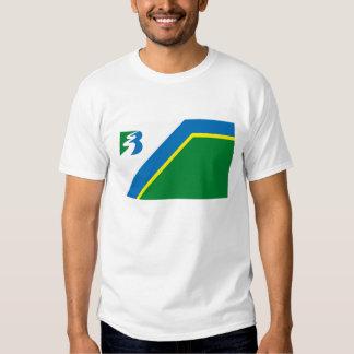 Camiseta de la bandera de Bayport Poleras