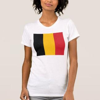 Camiseta de la bandera de Bélgica