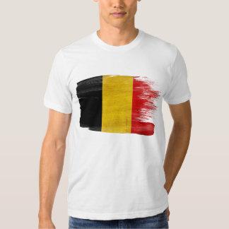 Camiseta de la bandera de Bélgica Remeras