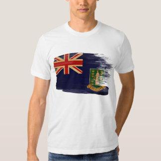 Camiseta de la bandera de British Virgin Islands Camisas
