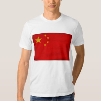 Camiseta de la bandera de China Playera