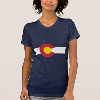 Camiseta de la bandera de Colorado - bandera de