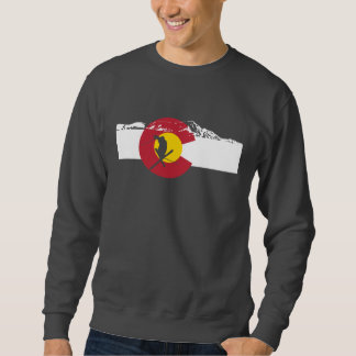 Camiseta de la bandera de Colorado - esquiador -