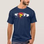 Camiseta de la bandera de Colorado - horizonte de
