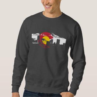Camiseta de la bandera de Colorado - horizonte de Sudadera