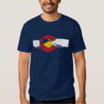 Camiseta de la bandera de Colorado - Skydive - Polera