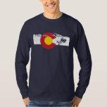 Camiseta de la bandera de Colorado - telesilla - Camisas