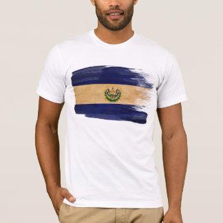 Camiseta de la bandera de El Salvador