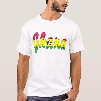 Camiseta de la bandera de Ghana