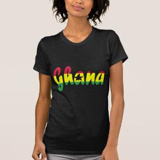 Camiseta de la bandera de Ghana Remera