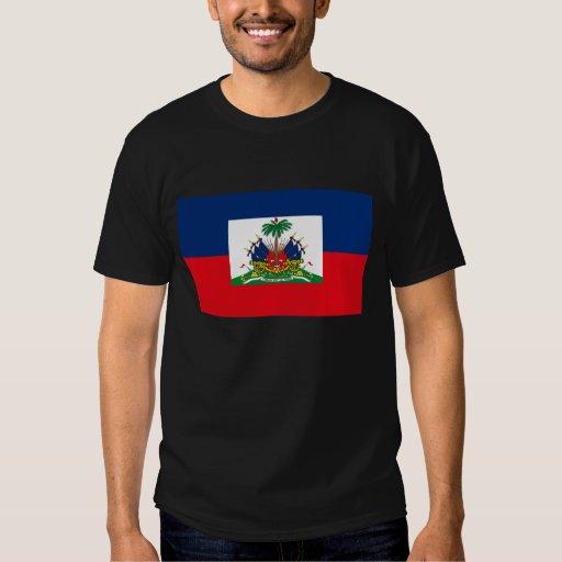 Camiseta de la bandera de Haití Playeras