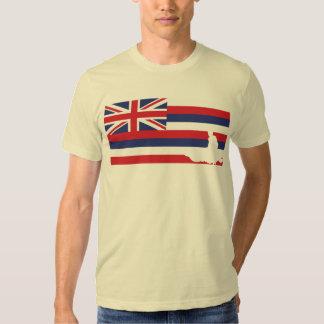 Camiseta de la bandera de Hawaii - Jetski Playeras