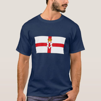 Camiseta de la bandera de Irlanda del Norte