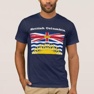 Camiseta de la bandera de la Columbia Británica