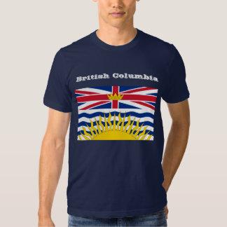 Camiseta de la bandera de la Columbia Británica Polera