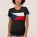 Camiseta de la bandera de la República Checa