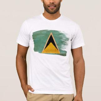 Camiseta de la bandera de la Santa Lucía