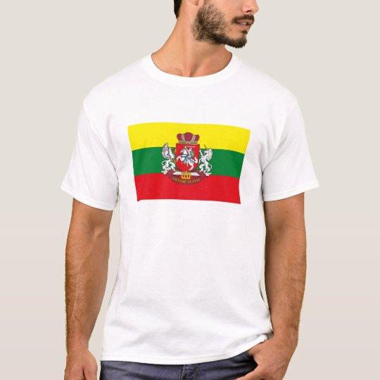 Camiseta de la bandera de Lituania