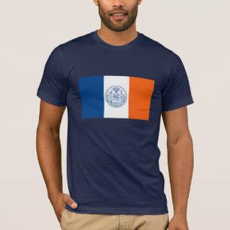 Camiseta de la bandera de New York City