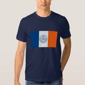 Camiseta de la bandera de New York City Playeras