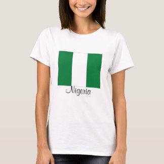 Camiseta de la bandera de Nigeria
