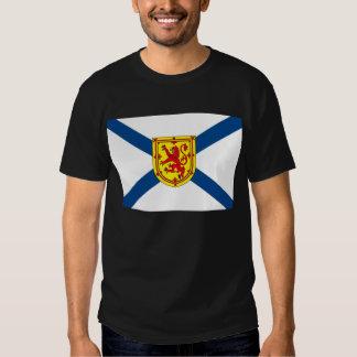 Camiseta de la bandera de Nueva Escocia Playeras
