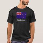 Camiseta de la bandera de Nueva Zelanda
