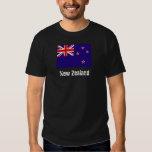 Camiseta de la bandera de Nueva Zelanda Playera