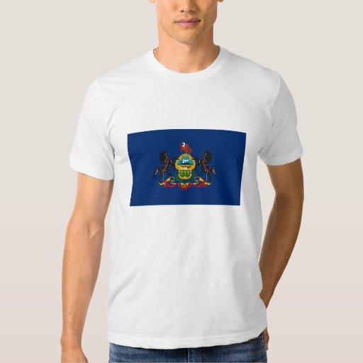 Camiseta de la bandera de Pennsylvania Playeras