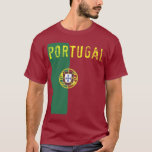 Camiseta de la bandera de Portugal