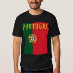Camiseta de la bandera de Portugal Playera