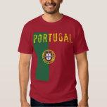 Camiseta de la bandera de Portugal Playeras