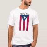 Camiseta de la bandera de Puerto Rico