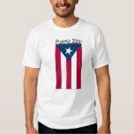 Camiseta de la bandera de Puerto Rico Playeras