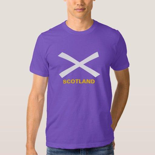 Camiseta de la bandera de Saltire del escocés Playera