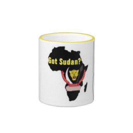 """Camiseta de la bandera de """"Sudán"""" y etc Tazas"""