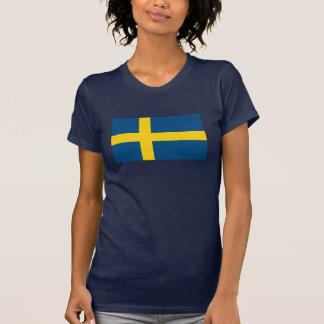 Camiseta de la bandera de Suecia