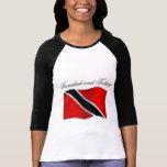 Camiseta de la bandera de Trinidad and Tobago y