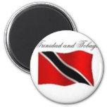 Camiseta de la bandera de Trinidad and Tobago y et Iman De Frigorífico