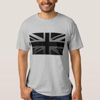Camiseta de la bandera de Union Jack de los hombre Playeras