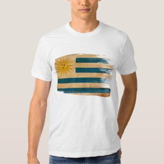 Camiseta de la bandera de Uruguay Polera