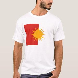 Camiseta de la bandera de Yezidi