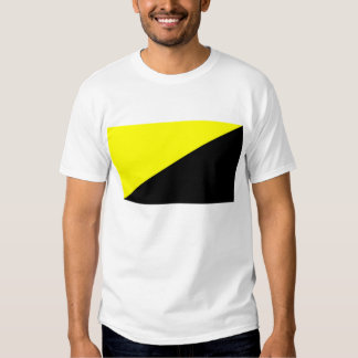 Camiseta de la bandera del Anarcho-Capitalista Playera