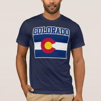 Camiseta de la bandera del estado de Colorado