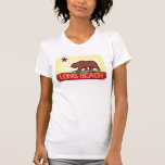 Camiseta de la bandera del estado de las señoras d
